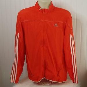Mens Adidas Running Jacket Wind Breaker Sz M